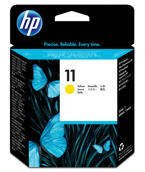Głowica HP C4813A nr 11 do  Business Inkjet, Color Inkjet, Designjet - yellow - data na opakowaniu maj 2018