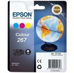 Oryginał Epson C13T26704010, CMY 267, tusz do Epson WorkForce WF-100W - CMY