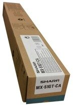 Toner SHARP MX-51GT-CA MX51GTCA do MX-4112, 4140, 4141, 5112, 5112, 5140, 5141 - cyan