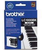 Tusz BROTHER LC1000BK do  DCP130C, 330, 350, 357, 540, 560, 750, 770, FAX1355, 1360, 1460, 1560, MFC240, 440, 465, 660, 680, 845, 885, 3360, 5460, 5860 - czarny