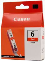 Tusz CANON BCI-6R, 8891A002do i990, 9950, iP8500 - red