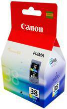Tusz CANON CL-38, 2146B001 do MP140, 190, MX300, 310, IP2600, 1900 - kolorowy