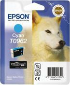 Tusz EPSON T0962 - C13T09624010 do Stylus Photo R2880 - cyan