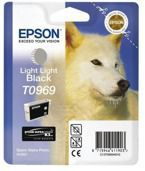 Tusz EPSON T0969 - C13T09694010 do Stylus Photo R2880 - light light czarny