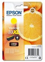 Tusz Epson C13T33644010 33XL yellow, C13T33644012 do XP-530, 630, 635, 830, 900 - żółty, tusz z multipacka