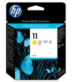 Tusz HP C4838A nr 11 do Business Inkjet, Color Inkjet, Designjet, ColorPro, Officejet  - yellow - 2015 WYPRZEDAŻ