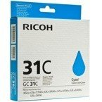 Tusz RICOH 405689 - GC31C do GX e2600, 3300, 3350, 5550, 7700 - cyan - 2015
