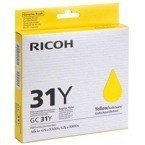 Tusz RICOH 405691 - GC31Y do GXe2600, 3300, 3350, 5550, 7700 - yellow