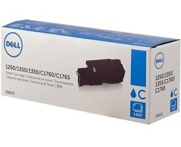 Toner DELL 593-11141, 59311141, C5GC3, 79K5P do 1250, 1350, 1355, C1760, C1765 - 1400 str cyan