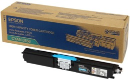 Toner EPSON S050556  do C1600, CX16 - cyan