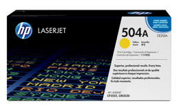 Toner HP CE252A, nr 504A do LJ CM3530, CP3525 - yellow