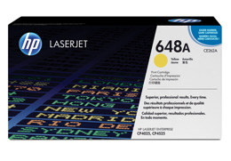 Toner HP CE262A, nr 648A do LJ CP4025, CP425 - yellow