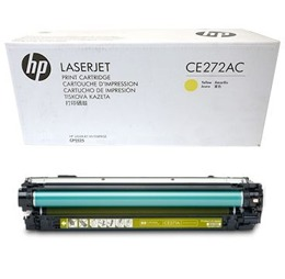 Toner HP CE272A, CE272AC, HP 650A do LJ CP5525, M750 - yellow