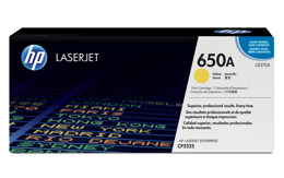 Toner HP CE272A, nr 650A do LJ CP5525, M750 - yellow