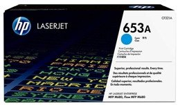 Toner HP CF321A, nr 653A do HP LaserJet Enterprise M680 - cyan