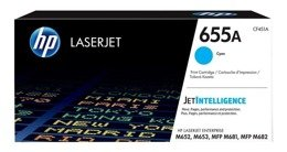 Toner HP CF451A, 655A do Color LaserJet Enterprise M652, M653, M681, M682 - cyan