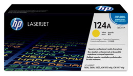 Toner HP Q6002A, nr 124A do CLJ 1600, 2600, 2605, CM1015, CM1017 - yellow