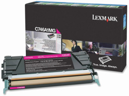 Toner LEXMARK C746A1MG  do C746, C748 - magenta