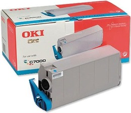 Toner OKI 41304211 do C7000, 7200, 7400 - cyan