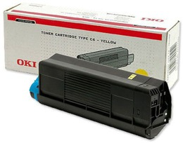 Toner OKI 42127405 do C5100, 5200, 5300, 5400, typ c6 - yellow