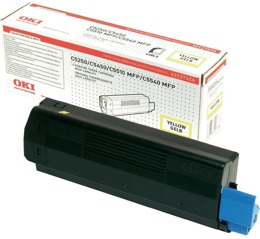 Toner OKI 42127454 do C5250, 5450, 5510, 5540 - yellow