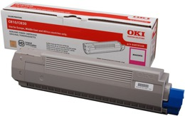 Toner OKI 44059106 do C810, C830 - magenta