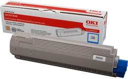 Toner OKI 44059107 do C810, C830 - cyan