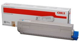 Toner OKI 44059255 do MC861, MC861+ - cyan