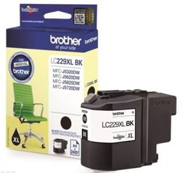 Tusz BROTHER LC229XLBK do MFC-J5320DW, J5600, J5620DW, J5625DW, J5720DW - czarny