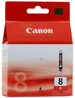 Tusz CANON CLI-8R, 0626B001 do Pixma Pro9000, Pixma Pro9000 Mark II - red