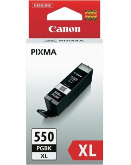 Tusz CANON PGI-550PGBK XL, 6431B001 do Pixma MG5450, 5550, 6350, 6450, 6650, 7150, MX725, 925, iP7150, 7250, 8750, ix6850 - czarny