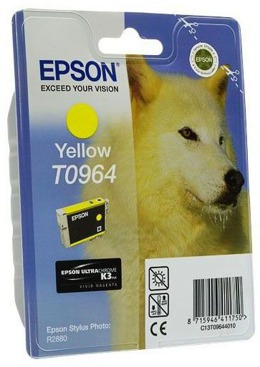 Tusz EPSON T0964 - C13T09644010 do Stylus Photo R2880 - yellow