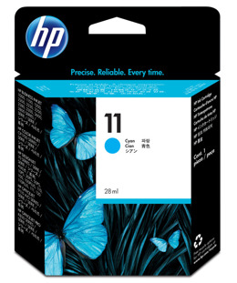 Tusz HP C4836A nr 11 do Business Inkjet, Color Inkjet, Designjet, ColorPro, Officejet - cyan
