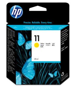 Tusz HP C4838A nr 11 do Business Inkjet, Color Inkjet, Designjet, ColorPro, Officejet  - yellow