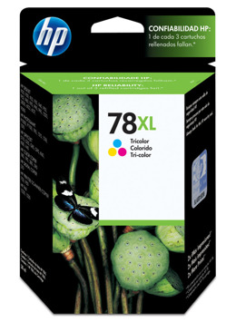 Tusz HP C6578A nr 78 do 916, 1180, 1220, 3810, 3822, 6122, 9300, Fax 1220, Officejet 5110, G55, G85, K50, V40, V45 - CMY