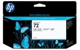 Tusz HP C9370A nr 72 PK do T610, T620, T770, T790, T795, T1100, T1120, T1200, T1300, T2300 - photo black