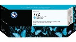 Tusze HP CN632A HP 772 do HP DesignJet Z5200, DesignJet Z5400 - light cyan - rok 2019